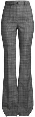 Michael Kors High-Waist Virgin Wool Flare Trousers
