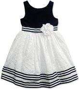 Sweet Heart Rose Eyelet-Skirt Dress, Little Girls (2-6X)