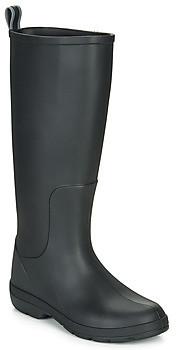 Isotoner 93700 women's Wellington Boots in Black