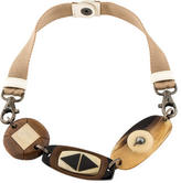 Marni Wood & Horn Necklace