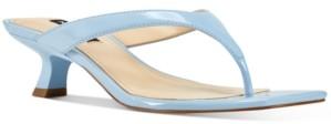 Nine West Manold Kitten-Heel Thong Sandals Women's Shoes