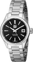 Tag Heuer Women's WAR2410.BA0770 Carrera Analog Display Swiss Automatic Silver Watch