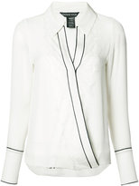 Thomas Wylde Beverly shirt - women - Silk - XS