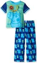 Komar Kids Nickelodeon Peppa Pig George Likes Dinosaurs Toddler Pajamas for boys