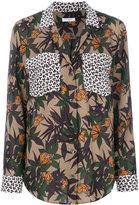 Equipment floral print shirt - women - Silk - XS