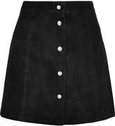 IRO Suede mini skirt
