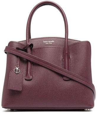Kate Spade Logo-Print Leather Tote Bag