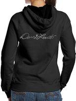 KcoIESisM Women Demi Lovato Signature Platinum Logo Hooded Sweatshirts