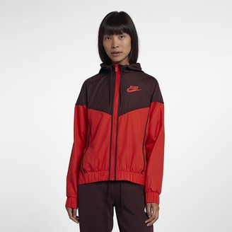 Nike Women's Woven Windbreaker Sportswear Windrunner