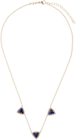 Jacquie Aiche Diamond, lapis & yellow-gold necklace