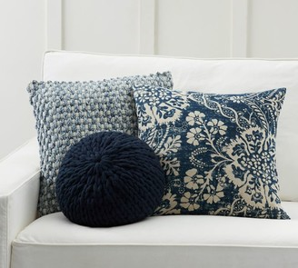 Pottery Barn Shades of Blue Pillow Cover Set