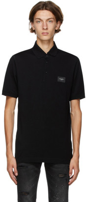 Dolce & Gabbana Black Essentials Polo