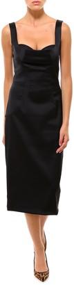 Dolce & Gabbana Fitted Midi Dress