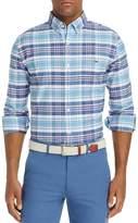 Vineyard Vines Fort Sumter Plaid Tucker Slim Fit Button-Down Shirt