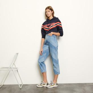 Sandro Jeans with diagonal stripes