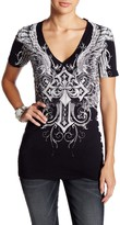 Affliction Debonair Short Sleeve V-Neck Tee