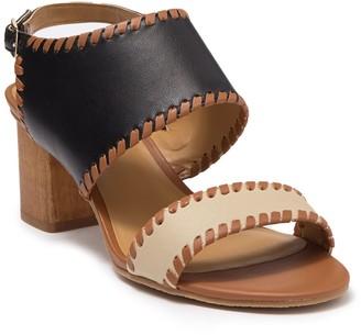 Jack Rogers Sloane Mid Leather Sandal