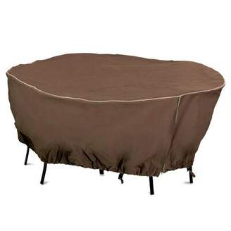 Mr. Bar-B-Q Round Table Cover