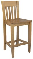 "Henson Bar & Counter Stool Breakwater Bay Color: Cherry, Seat Height: Bar Stool (30"" Seat Height)"