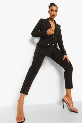 boohoo Slim Fit Tailored Trousers