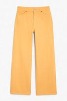 Thumbnail for your product : Monki Yoko yellow jeans