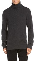 Vince Men's Chunky Wool & Cashmere Turtleneck Sweater