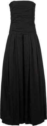 KHAITE Ingrid strapless dress