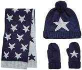Very Boys 3 PC Knitted Star Print Set