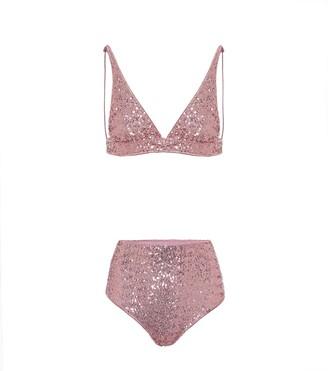 Oseree Exclusive to Mytheresa Paillettes bikini