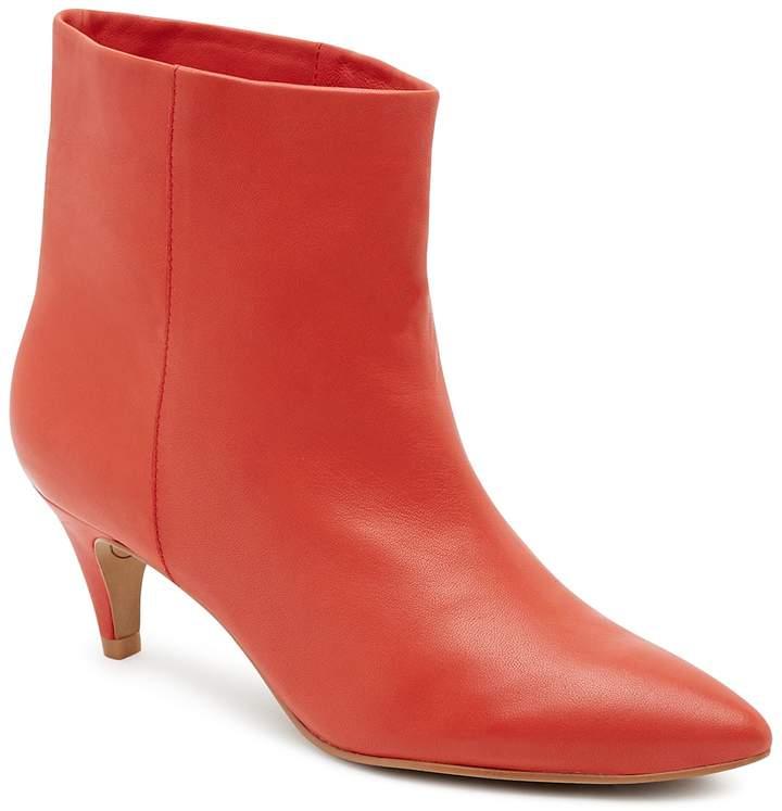 Dolce Vita Women's Dee Leather Kitten Heel Booties