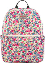 Cath Kidston Painted Pansies Foldaway Backpack