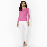 Ralph Lauren Cable-Knit Boatneck Sweater