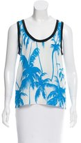 Fausto Puglisi Silk Sleeveless Top w/ Tags