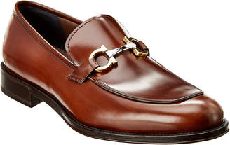 Salvatore Ferragamo Tino Leather Loafer