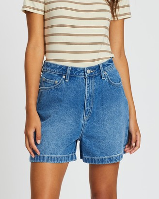 Lee High Relaxed Shorts