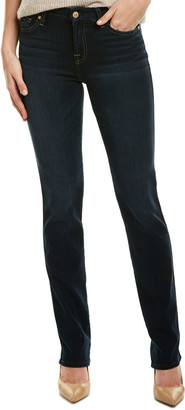 7 For All Mankind Kimmie Dark Moonbay Straight Leg