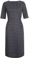 Hobbs Claudia Jaquard Dress