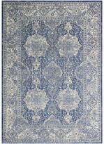 "Blue Area Bashian Alberta Dark Rug, 5'x7'6"""