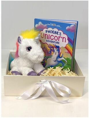 Personalised Unicorn Story Plush Toy Giftset including FREE Giftbox