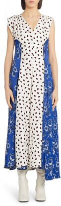 Marni Mixed Print Maxi Dress