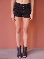 West Coast Wardrobe Joni Woven Shorts in Black