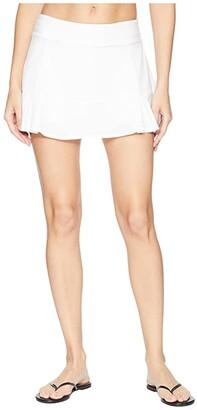 tasc Performance Rhythm II Skirt (White) Women's Skirt