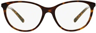 Burberry Oval Frame Glasses
