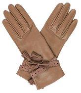 Hermes Lambskin Tassel Gloves