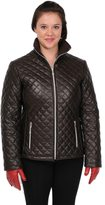 Excelled Women's Excelled Quilted Leather Jacket