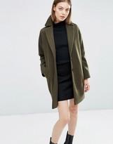 Asos Boyfriend Coat in Cocoon Fit