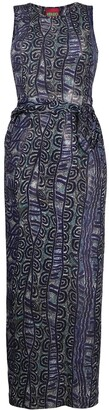 Kenzo Pre-Owned 2000s Patterned Dress