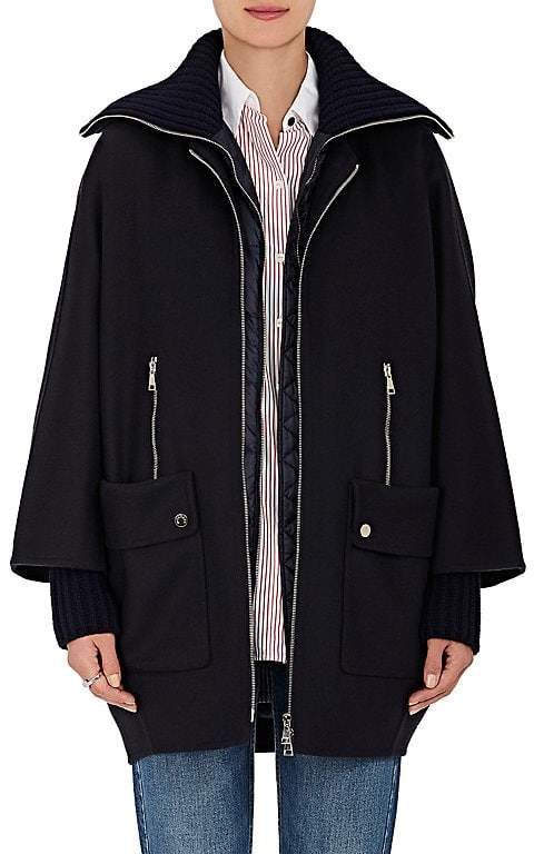 Moncler Women's Acanthus Wool-Cashmere 3-in-1 Coat