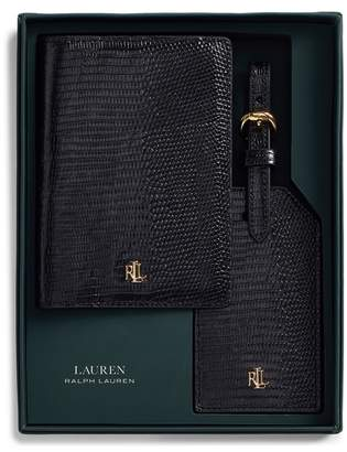 Ralph Lauren Leather Travel Set