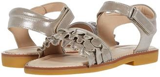 Elephantito Flamenco Sandal (Toddler/Little Kid) (Gold) Girl's Shoes